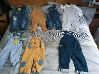 baby boy dungarees 9-12 months Bundle