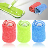 Dust Cleaning Pad Washable Cloth Pad Home Microfiber Mop Heads Replacement Cloth