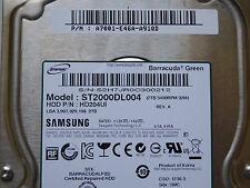2 TB Samsung st2000dl004/p/n: a7001-e46a-a91qd/f4 s3m rev.03 hardening schijf *