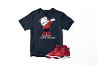 Positive Vibes Only Bear Graphic T-Shirt To Match Jordan Fiba 4 Big and Tall