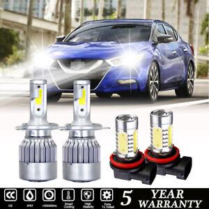 LED Fog Light Bulb H11 H16 for Nissan Sentra 04-2019 Maxima 07-2018 6000K White