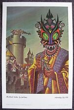 KELLY FREAS CLASSICS OF SCI FI PRINT MIRACLE WORKERS