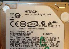 HITACHI 5K500 B-160 HTS545016B9A300  160GB SATA PCB BOARD ONLY