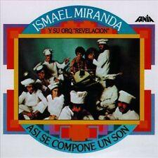 SALSA rare FANIA remastered CD W/BOOKLET  ISMAEL MIRANDA Asi se compone un son