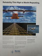 6/1990 PUB DORNIER 228 REGIONAL AIRLINER DEUTSCHE AEROSPACE FLUGZEUG AVION AD