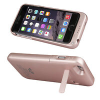 SAVFY External Battery Backup Power Bank Charger Case for iPhone 6/6S/7 Plus