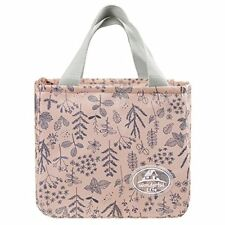 Portable Thermal Insulated Lunch Bag Women Kids Lunchbox Folding Floral Printed