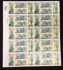 1981 DESERT PLANTS CACTUS #1942-45  full mint sheet of 40 Mint NH OG