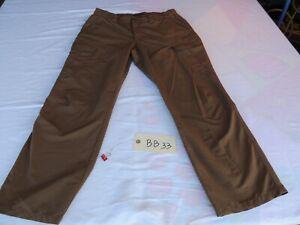 5.11 Tactical Stryke Men's Battle Brown Pants Size 36/30  **NICE**