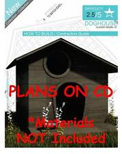 DOG HOUSE PLANS - Step By Step CAD Drawings - How To Build a Doghouse Guide - 07