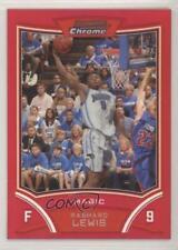 2008-09 Bowman Draft Picks & Stars Chrome Red Refractor /5 Rashard Lewis #82