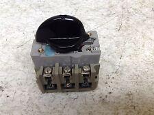 Elektra EEC AEG 5043 NOB 0.85-1.35 Amp Manual Motor Starter Tailfingen 5043NOB