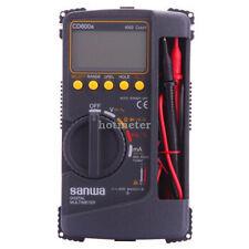 SANWA CD800a Digital Multimeter DMM 4000 Volt Counter Tester Meter New