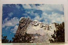 South Dakota SD Black Hills Mount Rushmore Postcard Old Vintage Card View Post