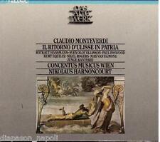 Monteverdi: Il Ritorno D'ulisse In Patria / Harnoncourt, Concentus - CD Teldec