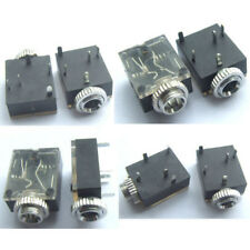 """20PCS 1/8"""" 3.5mm Stereo Socket Jack Headphones With nut PCB Panel Mount Chassis"""