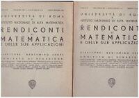 (Università Roma) Rendiconti di matematica e delle sue applicazioni 1963