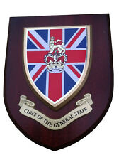 Chief of General Staff Military Wall Plaque UK Hand Made for MOD