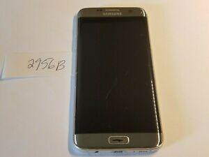 Samsung Galaxy S7 Edge SM-G935V - 32GB - Silver Titanium (Verizon) (2956B)