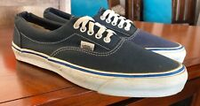 Vintage Vans Era Sneakers Made in USA Blue Mens Size 11