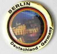 Puerta de Brandenburgo de Berlín, Metal Imán ,Color Dorado, Nuevo