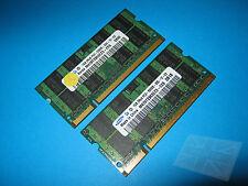 Samsung 2 GB (2x1GB) M470T2864QZ3-CE6 PC2-5300 DDR2 Laptop Memory