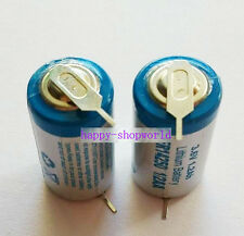 1 x Tabbed 3.6V 1200mAh ER14250 LI-SOCl2 1/2AA Battery Non-rechargeable 2Tabs