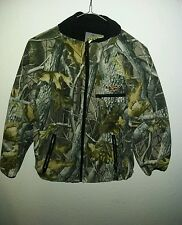 Lucky Bums  All Purpose Camo Youth large  Jacket Hunting Fishing nice