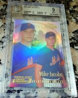 MIKE JACOBS 2001 Topps Fusion GOLD Rookie Card RC SP BGS 9 9.5 10 New York Mets