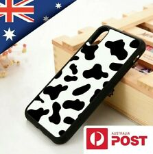Trendy Moo Cow Print Case Cover for iPhone 11 Pro Max XS Max XR XS 6 7 8 Plus AU