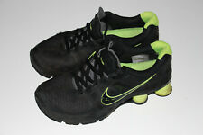 Nike Shox Turbo black Fluo yellow SIZE 10