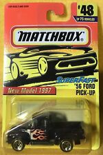 Vintage (1997) Matchbox SuperFast ~ '56 Ford Pick-up #48 ~ NEW ON CARD