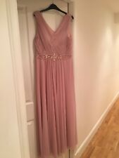 Stunning Eliza J Pink Bridesmaid or Prom dress. Size 18