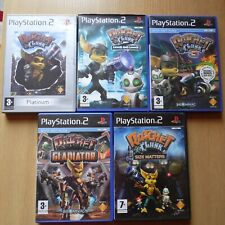PS2 Rachet & Clank Game Pack - 5 Games - See Description for List of Games