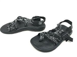 Womens Chaco (J106664)  Z/Volv X2 Black/White Sandals (432A)