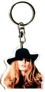 Brigitte Bardot Porte Clés Personnalisé Photo Prénom Idée Cadeau Star Actrice R2