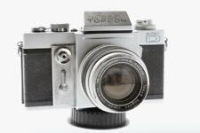 Beseler Topcon Super D 35mm SLR Camera  W/ 58mm F/1.8