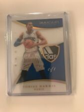 2014 15 Immaculate TOBIAS HARRIS NBA Game Used PATCH Card 1/1