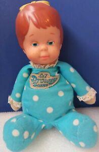 Vintage MATTEL 1982 Li'l Drowsy Beans Blue