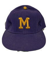 Rare Vintage 70s Milwaukee Brewers Baseball New Era Size 7 Hat Leather Band