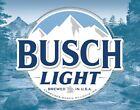Busch Light Beer Logo Bar Wall Sign Made USA Garage Dorm Pub Made USA Metal Tin