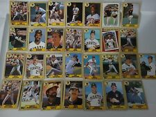 1987 Topps Pittsburgh Pirates Team Set of 29 Baseball Cards