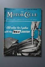 R&L Mag: The Motorcycle 3 Jan 1957 Bill Lomas/Kreidler J51/Ralph Venables/Bantam