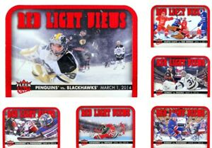 2014-15 Fleer Ultra Red Light Views **** PICK YOUR CARD **** From The SET