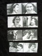 Mint Stamps Queen Elizabeth 80th Birthday 2006 set of 8 Mixed value unused