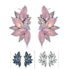 Hot Fashion Jewelry 1 Pair Women Crystal Rhinestone Ear Drop Dangle Stud Earring