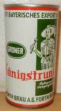 GRÜNER KÖNIGSTRUNK Straight Steel Beer can from GERMANY (35cl) 02