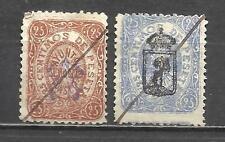 7790-LOTE SERIE SELLOS FISCALES LOCALES MADRID 1875 DIFERENTES.SPAIN REVENUE CLA