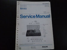 Original Service Manual Philips 22RH852