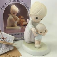 Precious Moments One Step At A Time 1991 Members Only PM911 1990 Baby First Step